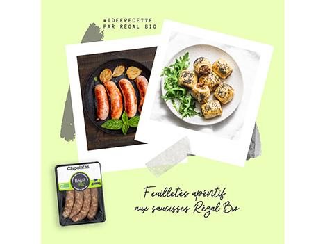 Recette : feuilletés apéritif aux saucisses
