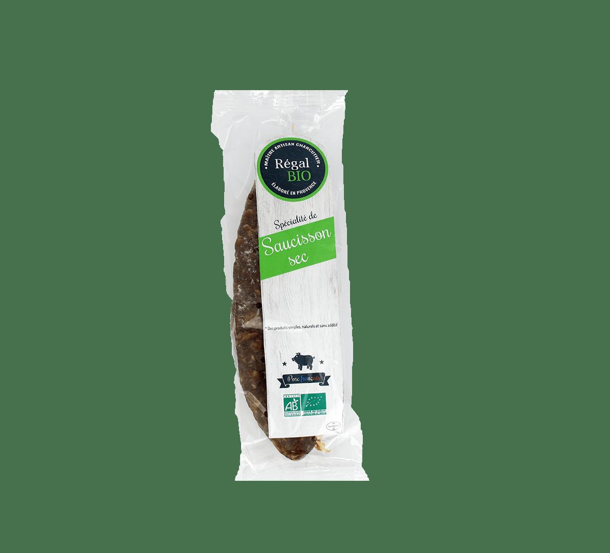 Saucisson sec Régal Bio